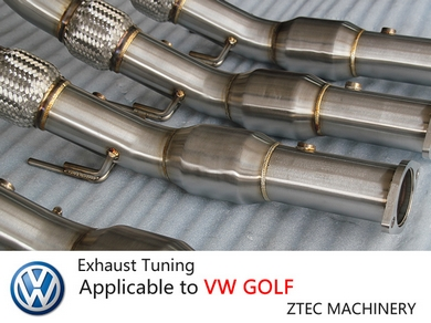 Exhaust Tuning Applicable to VW GLOF